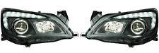 Vauxhall Astra J 2009+ LED DRL Black Projector Headlights Lighting Lamp Part