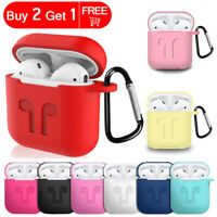 Shockproof AirPods Case Charging Protective Silicone Cover For Apple Airpods
