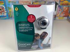 Logitech Quickcam Webcam For Notebook Series Built In Microphone