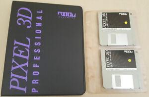 Pixel 3D Professional v1.04 - ©1992 Axiom Software for Commodore Amiga