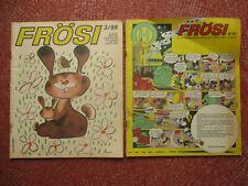 2 x FRÖSI DDR Pioniermagazin Zeitschrift