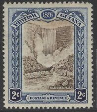 BRITISH GUIANA SG217 1898 2c BROWN & INDIGO HEAVY MTD MINT