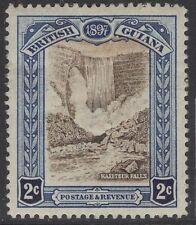 BRITISH GUIANA SG217 1898 2c BROWN & INDIGO HEAVY MTD MINT