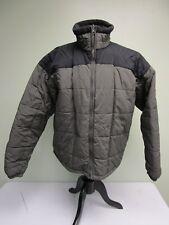 COLUMBIA COAT CORE FULL ZIP FLEECE LINED GRAY/BLACK MEN'S SIZE XL
