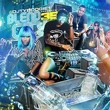 DJ TY BOOGIE - BLEND CITY 35 (MIX CD) HIP-HOP & R&B BLENDS