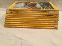 National Geographic 1971 Lot of 10 Gorillas Eskimos Indians Antarctica Otters🌍