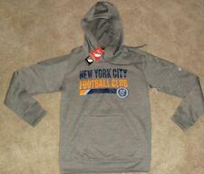 New York City Mls Adidas Soccer Hoodie Sweatshirt sz. Adult Small -New w. Tags-