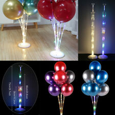 Balloon Stand Holder Set LED Light Base Table Support Stick Wedding Party Decor