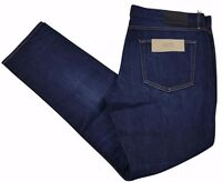 Burberry Brit Mens Jeans Slim Fit Dark Indigo/Blue Cotton Blend BNWT W40 x L32