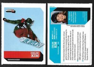 RARE 2016 SI Kids CHLOE KIM Rookie Card, Olympic/X-Game Snowboarding Girls #510