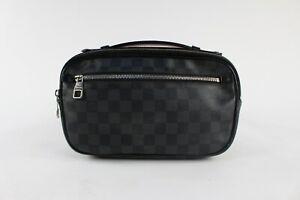 Louis Vuitton Mens Grey Anthracite Damier Cloth Bag