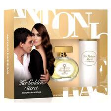 HER GOLDEN SECRET de ANTONIO BANDERAS - Colonia / Perfume 80 mL + DEO - Woman