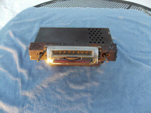 1946 1947 1948 Lincoln Continental AM radio