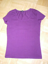 AMISU T-Shirt Gr.S in aubergine, TOP