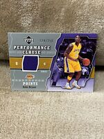 KOBE BRYANT⚡️2005 Upper Deck Performance Clause /250 Jersey Patch🔥Lakers