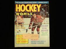 January 1974 Hockey World Magazine - Stan Mikita Blackhawks Cover