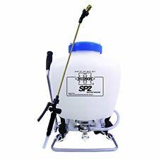 HUDSON Piston Pump Backpack Sprayer w/ Brass Wand & Adjustable Nozzle (4gal)