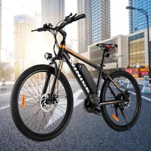 Elektrofahrrad Mountainbike E-bike 26 Zoll Ebike 350W Shimano Pedelec 21-Gänge