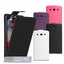 Accessories For The LG Optimus G Pro E985 PU Leather Flip Case Cover & Film UK