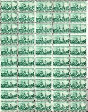 1964  NEW YORK WORLD'S FAIR - Full Mint -MNH- Sheet of 50 Vintage Postage Stamps