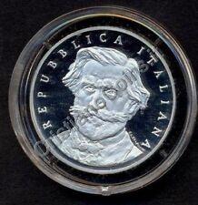 1000 Lire  VERDI   Argento Proof Fondo Specchio 2001