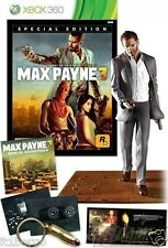 MAX PAYNE 3 SPECIAL EDITION - XBox 360 versione con scatola ita NUOVA