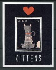 Grenada 2017 MNH Kittens 1v S/S Cat Cats Pets Stamps