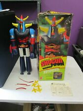 Vintage 1976 Mattel  *SHOGUN WARRIORS RAYDEEN WITH BOX*  23.5""