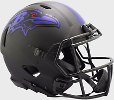 Baltimore Ravens Nfl Riddell Speed Authentic Football Helmet Eclipse
