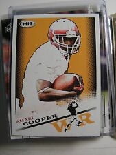 Amari Cooper 2015 Sage College Rookie Card Oakland Raiders NFL FOOTBALL 105