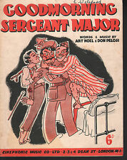 Good Morning Sergeant Major 1943 Sheet Music