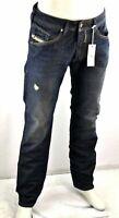 DIESEL Belther WASH 0R09M Herren Jeans Hose Regular Slim Tapered Gr. w30 L32