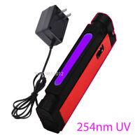 Shortwave UV Lamp Fluorescent Minerals Optical Filter Supplied w/ Power Adapter
