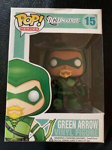 Green Arrow #15, Funko Pop, Rare, Check Photos For Condition