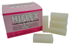 White Carving Wax Blocks, 200g Jewellers or Dental Lab Supplies