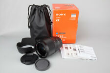 Sony Zeiss FE 35mm f/1.4 ZA Distagon T* Lens Suit Sony E Mount A7 II A7s A7r III
