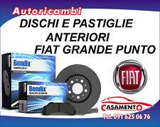 DISCHI FRENO ANTERIORI E PASTIGLIE BENDIX FIAT GRANDE PUNTO 1.2 8V 48KW