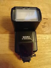 Sigma EF-500 DG ST Shoe Mount Flash for  Sony
