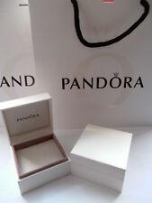 Original Pandora Geschenkbox Box Etui Verpackung für Beads Elemente Rings NEU