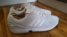 Adidas ZX Flux Torsion mens running shoes, size 13 UK, White *BARGAIN*