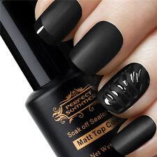 New 8 ml Vernis à Ongles Semi Permanent Nail Mat top coat à Mat Effet Manucure
