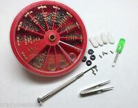269Pcs Eyeglass Sunglass Watch Repair Kit Tools Screwdriver Screws Tweezer