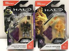 Mega Construx Halo Heroes ROLAND And Spartan Jun A266  FMM69