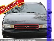 GTG 1994 - 1996 Chevy Impala SS 2PC Gloss Black Overlay Billet Grille Grill Kit