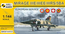 Mark I Models 1/144 Model Kit 144101 Dassault Mirage IIIE/EE/RS/5BA 'In Europe'