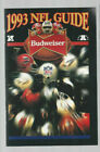 1993 NFL GUIDE SPONSORED BY BUDWEISER