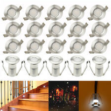 20X 19mm Outdoor Yard Patio Landscape Lighting LED Deck Stair Lights Cool White