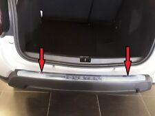 Protezione soglia carico paraurti Dacia Duster 4x4 4x2 dal 2018 Acciaio satinato