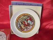 Wedgwood 1979 The Golden Goose Plate