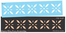 Joanie STENCIL Colonial Starburst Diamond Flower Folk Art Country French Border